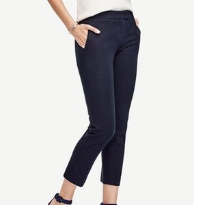 Ann Taylor Devin Fit Tailored Ankle Pant Size 10